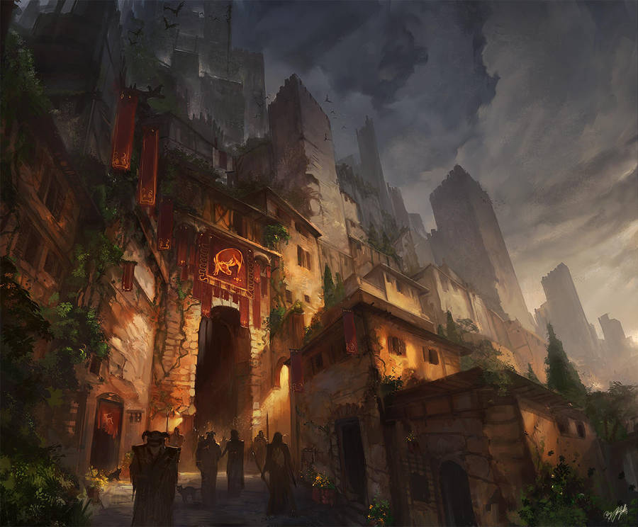 Fortress Town by flaviobolla