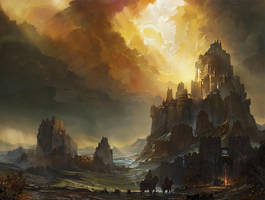 Ashes Saga - Cover by flaviobolla