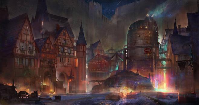 Final Fantasy VII - Kalm by flaviobolla