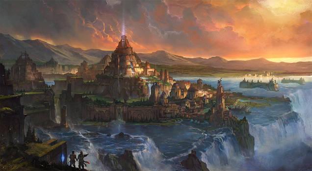Dreams of Atlantis by flaviobolla
