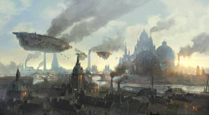Lyonesse City - Overview by flaviobolla