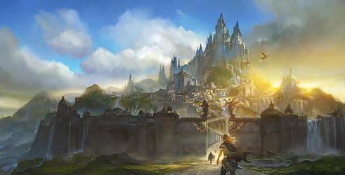 Bastion of Sun by flaviobolla
