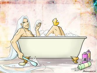 Sephy bath by animama