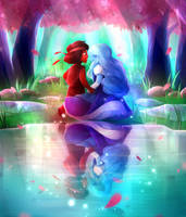 Ruby/Sapphire by Pozapple