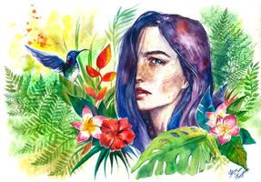 plants by Girdiuk
