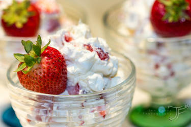 Strawberry Cheesecake Salad by JenFruzz