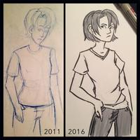 Draw Again Sketch by JillLenaD