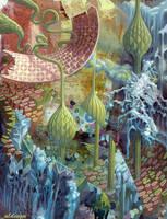 futurist plants by aldesgn