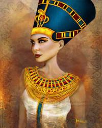 Nefertiti by solocosmo