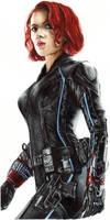 Black Widow/ Natasha Romanoff by LiubovKorotkova