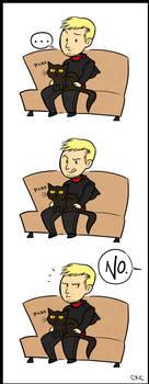 The Master Likes Cats by Inonibird