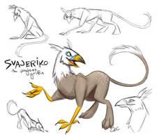 Svajeriko Griffin Design by Inonibird