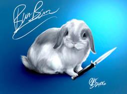 Bun-Bun the Mini Lop by Inonibird