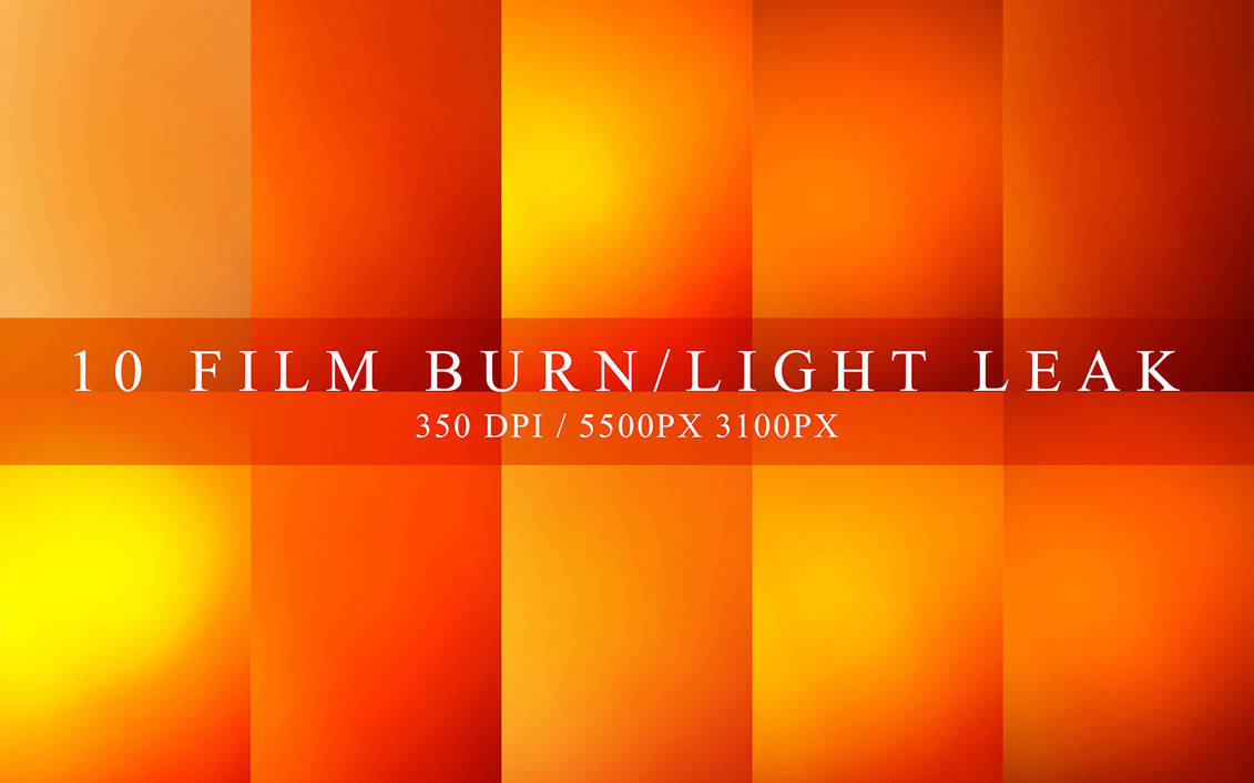 Film Burns Light Leaks Photoshop Download By Honnumgraphicart On