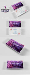 Business Card Mockup Vol 2 - Download by honnumgraphicart
