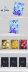 Notebook Mockup Vol 2 - Download by honnumgraphicart