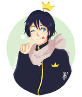 Noragami: Yato by Moonylight12
