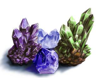 Crystal Practice by Safir-Kreuz