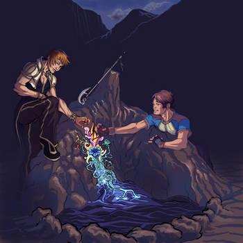 Kaiye and Aeliph - Final by Safir-Kreuz