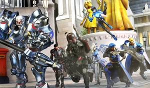 Strike Team Deploying To King's Row! (SFM) by Herioc107