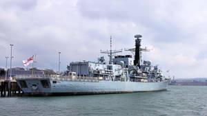 HMS Argyll - F 231 - rear view by UdoChristmann