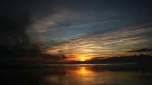 Sundown, wide lens ( new edit ) by UdoChristmann