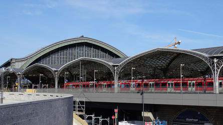 Main Station Cologne by UdoChristmann