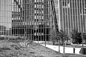 ECB Frankfurt - Entrance by UdoChristmann