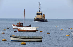 Approach  Fowey Harbor by UdoChristmann