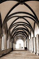 Cloister Eberbach ( 2 ) by UdoChristmann