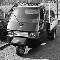 Piaggio three-wheeler by UdoChristmann