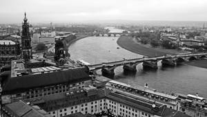 River Elbe and Dresden ( 2 ) by UdoChristmann