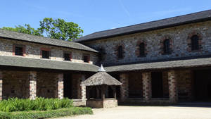 Roman Fortress Saalburg - central building by UdoChristmann