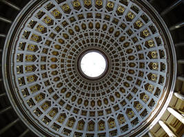 Domed roof from inside by UdoChristmann