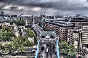 View from the Tower Bridge by UdoChristmann