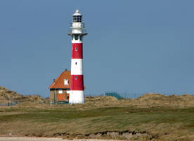 Lighthouse - Nieuwpoort Bad - Belgien by UdoChristmann