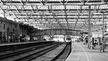 Station - Carlisle UK by UdoChristmann