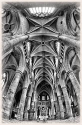Cathedral of Dinant - Belgium by UdoChristmann