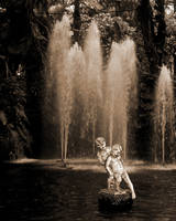 Figures and fountain by UdoChristmann