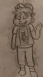 Sally Face OC-Chips Chug'S Son by RainbowRaveHappyAppy