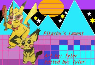 Pikachu's Lament(TheLivingTombstone) Digital Edit by RainbowRaveHappyAppy
