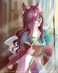 Livrat's contest's entry - Northie by ScarletteRoseDEzZean