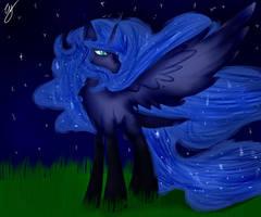 Luna/Nightmare Moon by theturtlegoddess