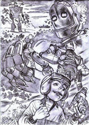 the iron giant by giuseppe92