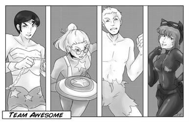 Team Awesome by Jutari
