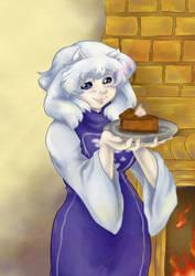 Butterscotch Cinnamon Pie by Jutari