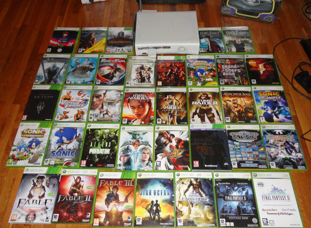 My Xbox 360 Games Collection By Alex Tout Court On Deviantart