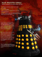 The Dalek Inquisitor General by DalekMercy