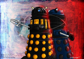 The DIG and the Dalek Time Controller by DalekMercy