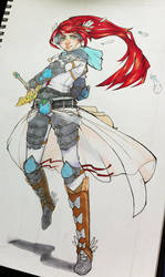 white knight by everyredqueen